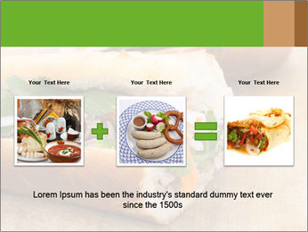 Meat Sandwich PowerPoint Templates - Slide 22