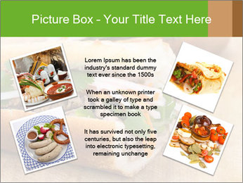 Meat Sandwich PowerPoint Templates - Slide 24