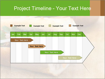 Meat Sandwich PowerPoint Templates - Slide 25