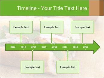 Meat Sandwich PowerPoint Templates - Slide 28