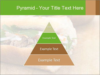 Meat Sandwich PowerPoint Templates - Slide 30