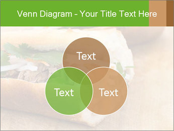 Meat Sandwich PowerPoint Templates - Slide 33