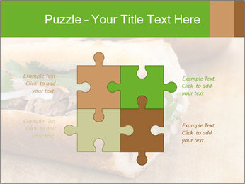 Meat Sandwich PowerPoint Templates - Slide 43