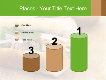 Meat Sandwich PowerPoint Templates - Slide 65