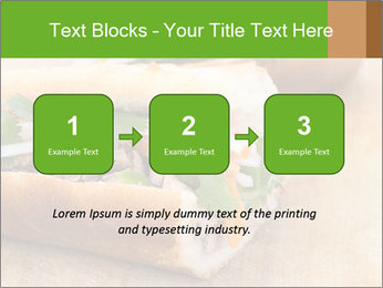 Meat Sandwich PowerPoint Templates - Slide 71