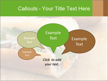 Meat Sandwich PowerPoint Templates - Slide 73
