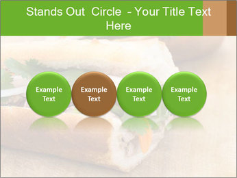 Meat Sandwich PowerPoint Templates - Slide 76