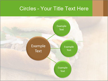 Meat Sandwich PowerPoint Templates - Slide 79