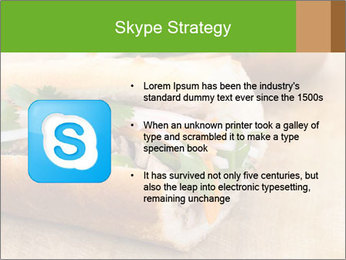 Meat Sandwich PowerPoint Templates - Slide 8