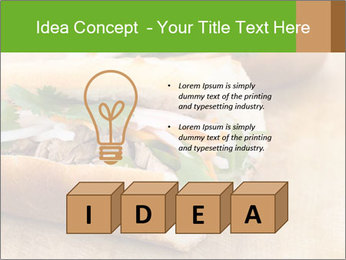 Meat Sandwich PowerPoint Templates - Slide 80