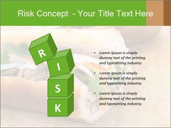 Meat Sandwich PowerPoint Templates - Slide 81
