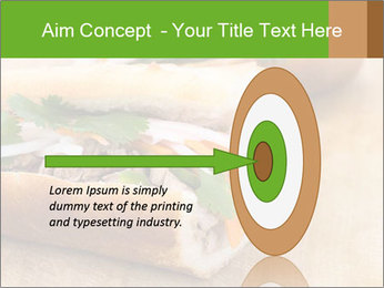 Meat Sandwich PowerPoint Templates - Slide 83