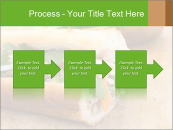 Meat Sandwich PowerPoint Templates - Slide 88
