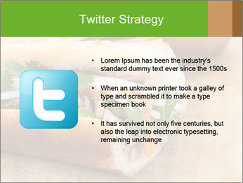 Meat Sandwich PowerPoint Templates - Slide 9