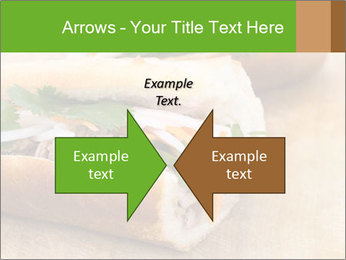 Meat Sandwich PowerPoint Templates - Slide 90