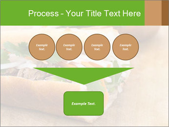 Meat Sandwich PowerPoint Templates - Slide 93