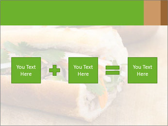 Meat Sandwich PowerPoint Templates - Slide 95
