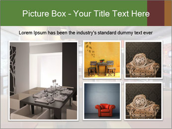 The restaurant before opening. PowerPoint Template - Slide 19