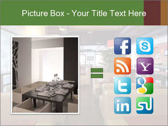 The restaurant before opening. PowerPoint Template - Slide 21