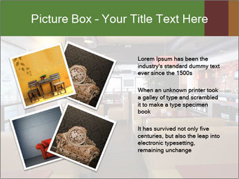 The restaurant before opening. PowerPoint Templates - Slide 23