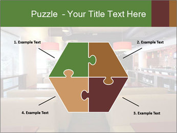 The restaurant before opening. PowerPoint Template - Slide 40