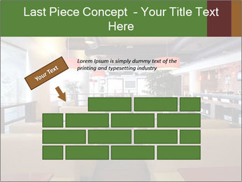 The restaurant before opening. PowerPoint Template - Slide 46