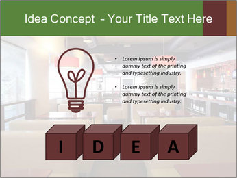 The restaurant before opening. PowerPoint Template - Slide 80