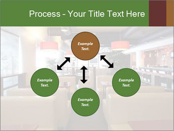 The restaurant before opening. PowerPoint Template - Slide 91