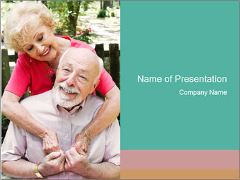Happy Grandparents PowerPoint Template - Slide 1