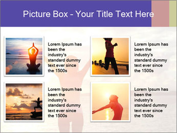 Woman Meeting Sunset PowerPoint Template - Slide 14