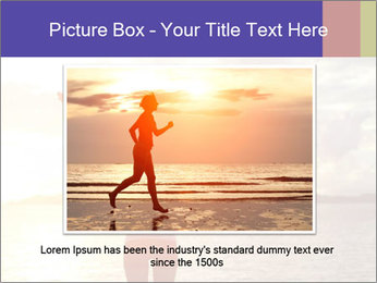 Woman Meeting Sunset PowerPoint Template - Slide 16