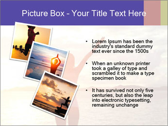 Woman Meeting Sunset PowerPoint Template - Slide 17
