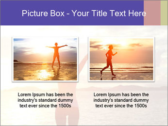 Woman Meeting Sunset PowerPoint Template - Slide 18