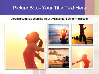 Woman Meeting Sunset PowerPoint Template - Slide 19