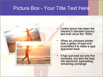 Woman Meeting Sunset PowerPoint Template - Slide 20
