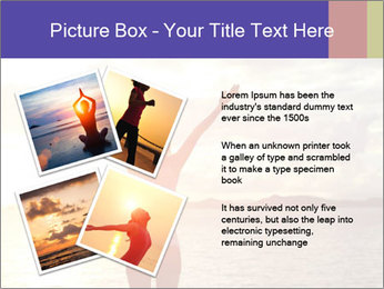 Woman Meeting Sunset PowerPoint Template - Slide 23