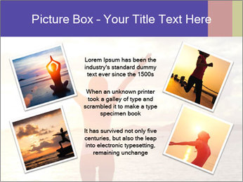 Woman Meeting Sunset PowerPoint Template - Slide 24