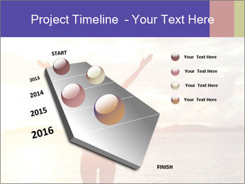 Woman Meeting Sunset PowerPoint Template - Slide 26