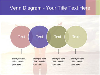 Woman Meeting Sunset PowerPoint Template - Slide 32