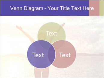 Woman Meeting Sunset PowerPoint Template - Slide 33