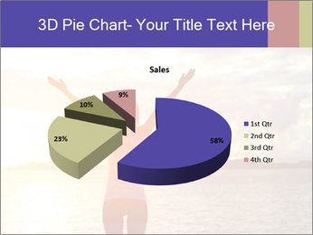 Woman Meeting Sunset PowerPoint Template - Slide 35