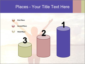 Woman Meeting Sunset PowerPoint Template - Slide 65