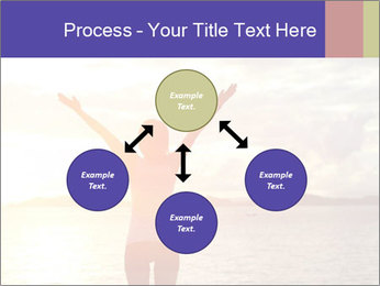 Woman Meeting Sunset PowerPoint Template - Slide 91