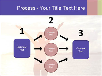 Woman Meeting Sunset PowerPoint Template - Slide 92