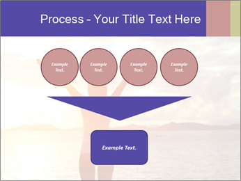 Woman Meeting Sunset PowerPoint Template - Slide 93
