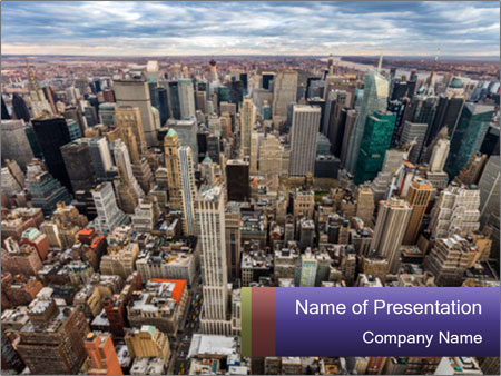 NYC Downtown PowerPoint Templates
