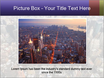 NYC Downtown PowerPoint Template - Slide 15