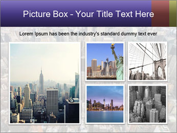 NYC Downtown PowerPoint Template - Slide 19