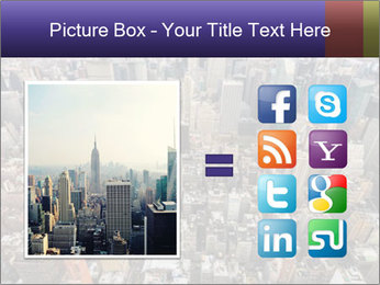 NYC Downtown PowerPoint Template - Slide 21