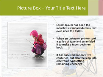 Small Boy Fishing PowerPoint Template - Slide 13